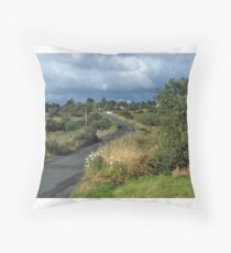 Road to Lettermacaward Throw Pillow