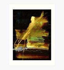 Telegraph Wind - 0001 - Struck Through Art Print