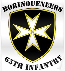 Borinqueneers - 65th Infantry Poster