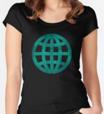 Green Globe Women's Fitted Scoop T-Shirt
