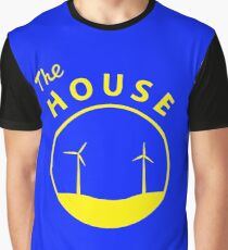 The HOUSE - Yellow Logo Graphic T-Shirt