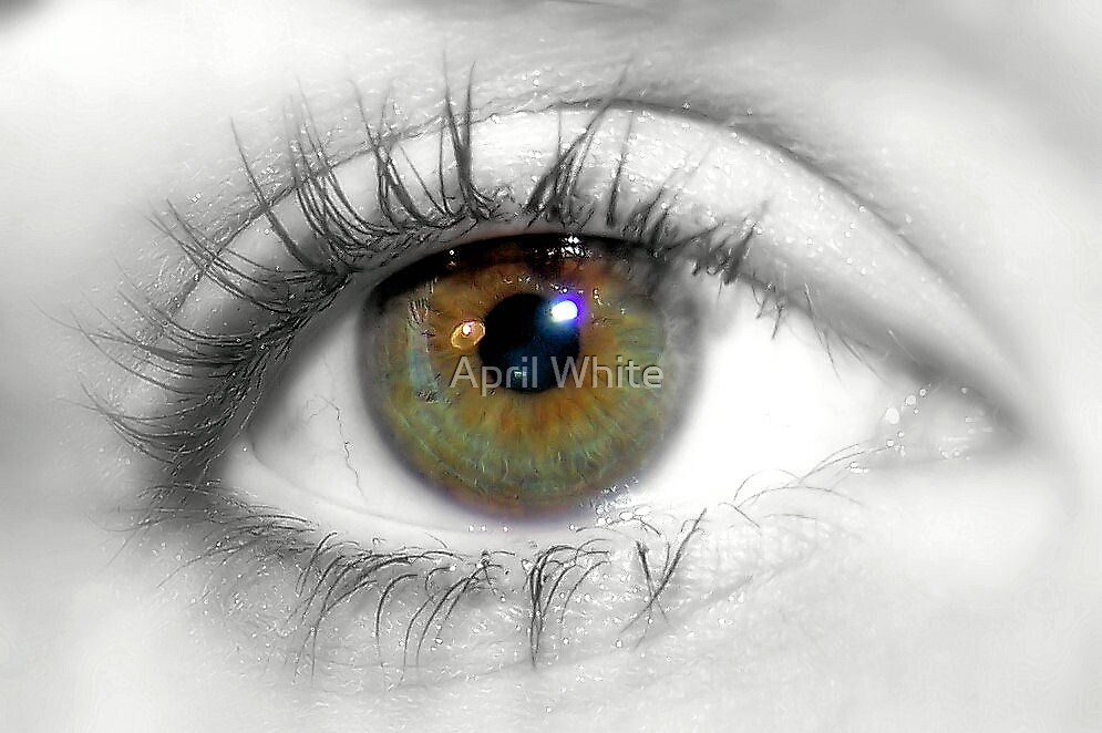 Macro Eye with Selective Color by April White