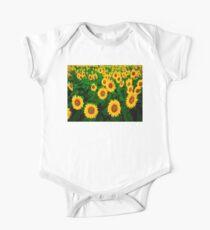 Sunflowers One Piece - Short Sleeve