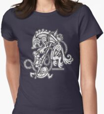 Shieldmaiden Huntress Women's Fitted T-Shirt