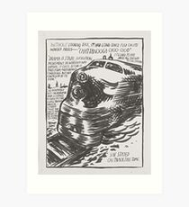 "Raymond Pettibon, ""Raymond Pettibon Untitled (Without looking back...)"", 1990 Art Print"