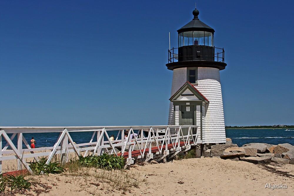 Brant Point Lighthouse by Alyeska