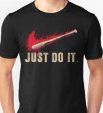 Negan Lucille Baseball Bat Zombie Fan Eeny Meeny Miny Moe Unisex T-Shirt
