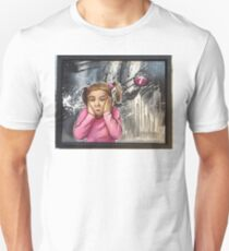 Pink Pig Tails Unisex T-Shirt