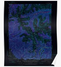 USGS TOPO Map Colorado CO Garfield 402797 1940 62500 Inverted Poster