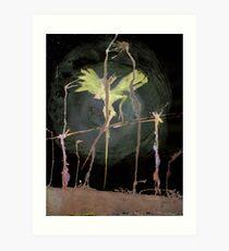 Telegraph Wind - 0006 - Telegraph Wind Art Print
