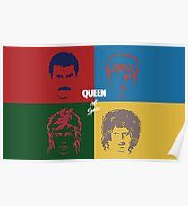 Queen - Hot Space Poster