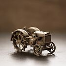 Old Tractor Toy by Edward Fielding