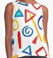 Shapes Contrast Tank