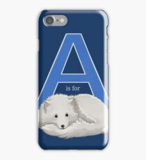 A is for Arctic Fox iPhone Case/Skin