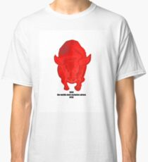 Bull RICH the worlds most exclusive adress NYSE Classic T-Shirt