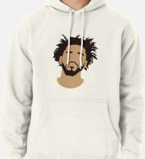 J Cole Silhouette Pullover Hoodie