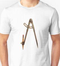 Iron Compass Backside Pattern T-Shirt
