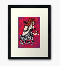 'Once upon a time there was Florence' (2) Framed Print
