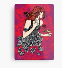 'Once upon a time there was Florence' (2) Metal Print