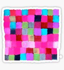 Colours passing through us Sticker