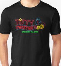 Titty Twister - Neon revamped HD Slim Fit T-Shirt