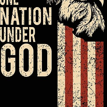 One nation under God design American Christian War Hero Design by 2stevos