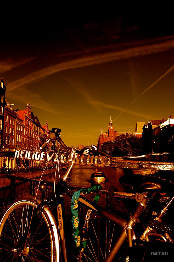 Places on Earth-Amsterdam by naman