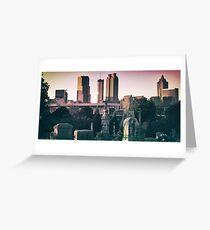 The Old & The New - Atlanta Greeting Card