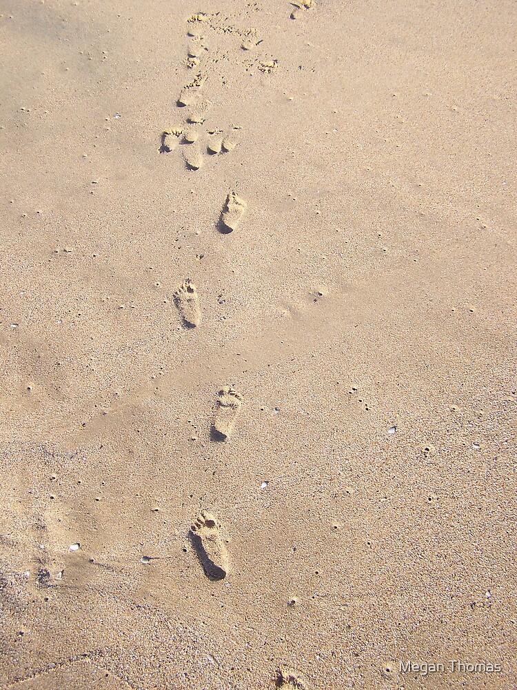 Footsteps by Megan Thomas