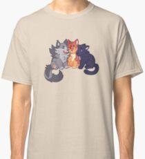 Krieger-Katzen: Greypaw, Feuerpfote und Rabenpfote Classic T-Shirt