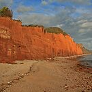 Red Cliffs II, Sidmouth, Devon by RedHillDigital