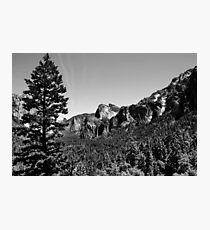Yosemite National Park B&W Photographic Print
