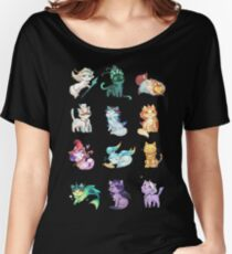 League of Support Cats ! Women's Relaxed Fit T-Shirt