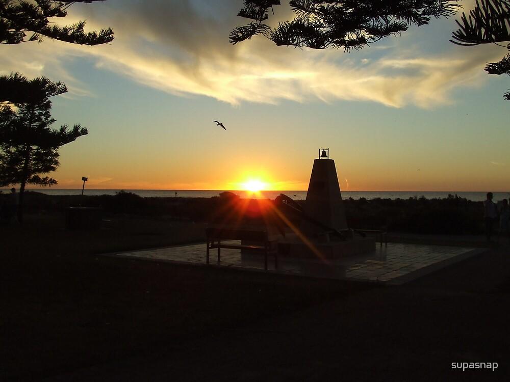 Sunset at Largs Bay by supasnap