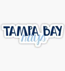 Tampa Bay Rays Sticker