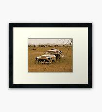 Old Vintage Autos One Framed Print