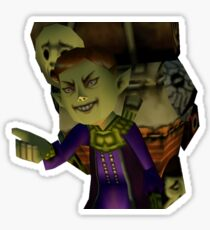 Happy Mask Salesman Sticker