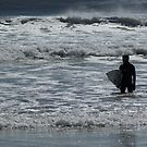 Surfer Silhouette  by KarenDinan