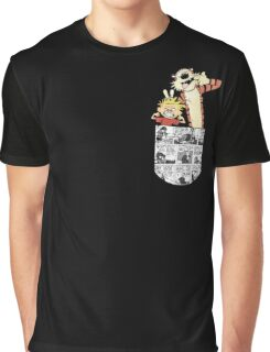 Calvin and Hobbes Pocket Graphic T-Shirt