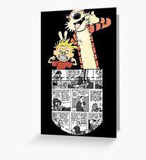 Calvin and Hobbes Pocket Greeting Card