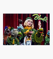 Debbie Harry on the Muppets Show Photographic Print