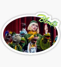 Debbie Harry on the Muppets Show Sticker