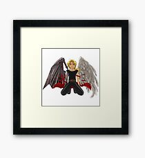 Full metal alchemist angel Framed Print