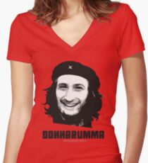 Che Donnarumma Women's Fitted V-Neck T-Shirt