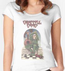 Grateful Dead - The Musician Traveler Women's Fitted Scoop T-Shirt