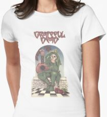 Grateful Dead - The Musician Traveler Womens Fitted T-Shirt