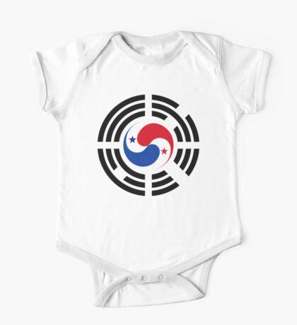 Korean Panamanian Multinational Patriot Flag Series Kids Clothes