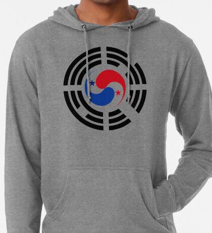 Korean Panamanian Multinational Patriot Flag Series Lightweight Hoodie