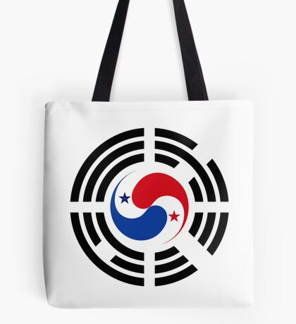 Korean Panamanian Multinational Patriot Flag Series Tote Bag