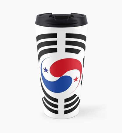 Korean Panamanian Multinational Patriot Flag Series Travel Mug